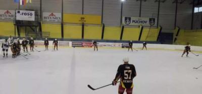 Spanilá jazda hokejistov MŠK Púchov na Záhorí